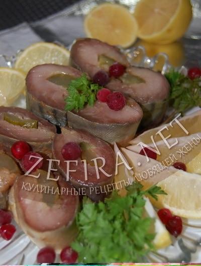 Маринованная скумбрия в маринаде - рецепт и фото