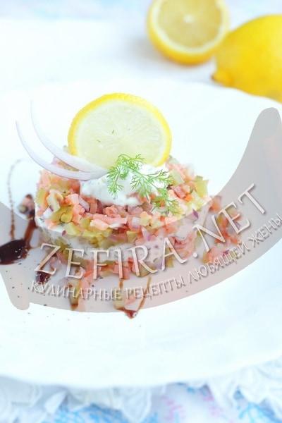 Тартар из рыбы - рецепт и фото