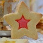 Печенье витражное с мармеладом