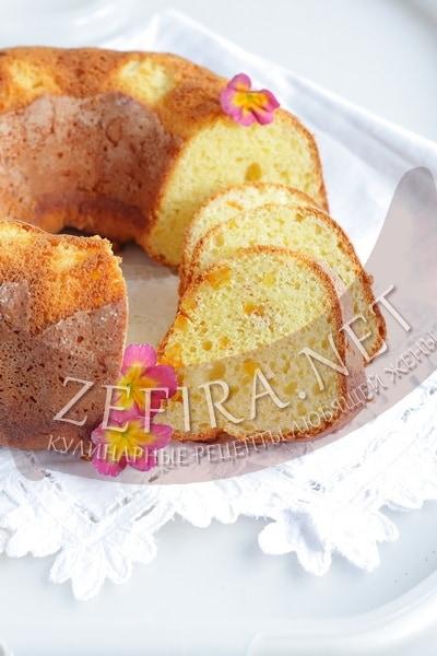 Вкусный творожный кекс - рецепт и фото