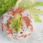 Закуска из рыбы со сливочным сыром