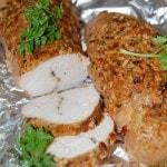 Запеченная в духовке куриная грудка в горчице