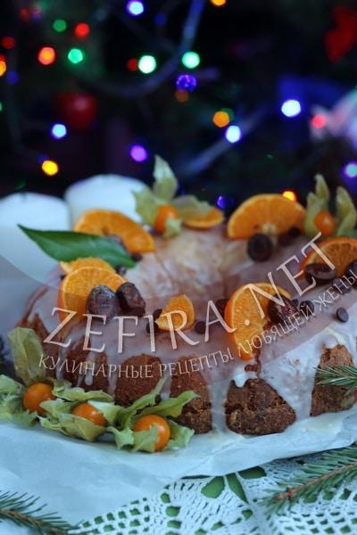 Апельсиновый кекс с цедрой апельсина - рецепт и фото