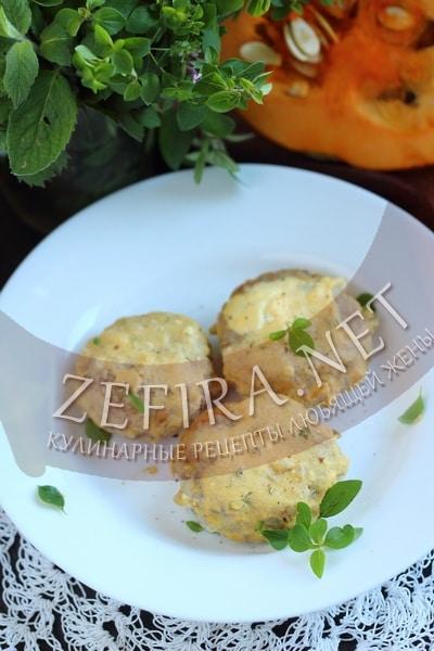 Гречаники с фаршем в тыквенно-сметанном соусе - рецепт и фото