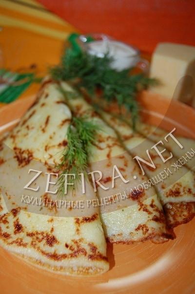 Блины из картофеля с сыром - рецепт на кефире с фото