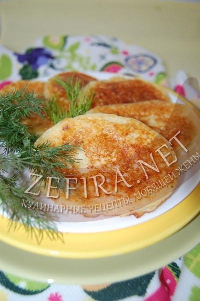 Несладкие картофельные сырники - рецепт и фото