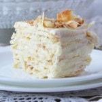 Слоеный торт «Наполеон» с заварным масляным кремом - рецепт и фото