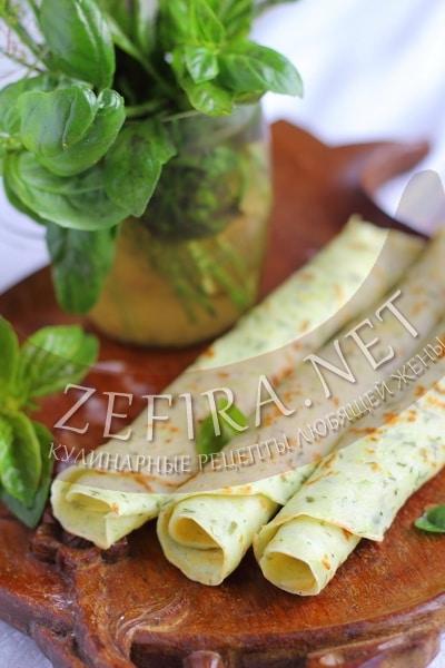 Тонкие блины с кабачками на молоке - рецепт и пошаговые фото