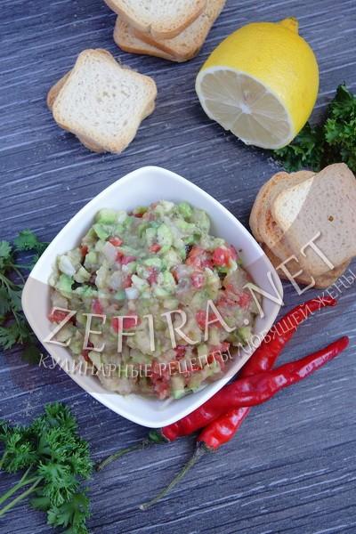 Гуакамоле из авокадо - рецепт и фото