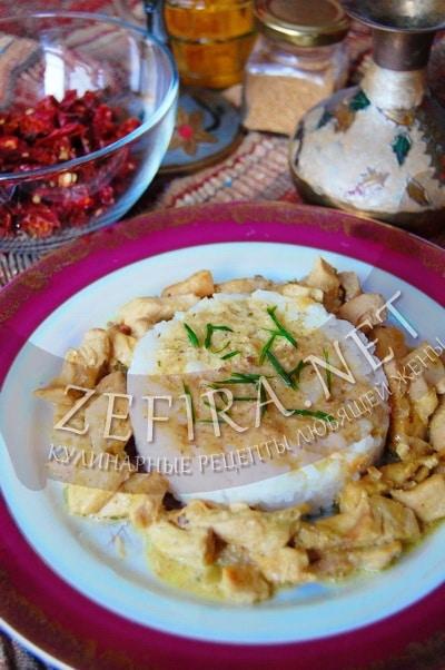 Курица карри по-индийски - рецепт и фото