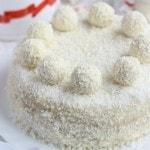 Кокосовый торт «Рафаэлло» с коржами