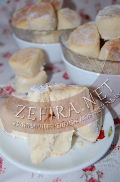 Песочное печенья с крахмалом - рецепт и фото