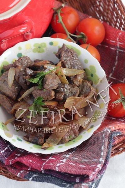 Говядина с грибами в соевом соусе - рецепт и фото