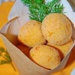 Морковные крокеты с сыром