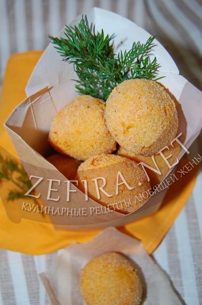 Морковные крокеты с сыром - рецепт и фото