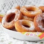 Жареные пончики на сухих дрожжах