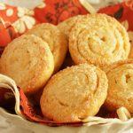 Творожное печенье улитки с сахаром