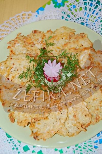 Оладьи из вермишели с грибами - рецепт и фото