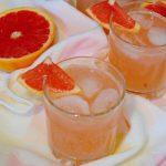 Домашний цитрусовый лимонад из грейпфрута