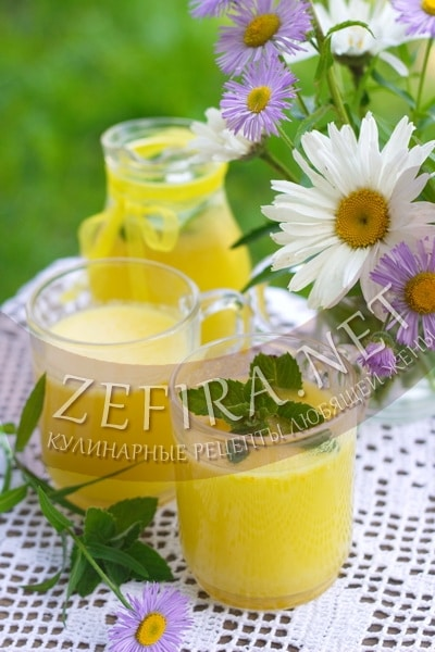 Домашний лимонад из замороженных апельсинов - рецепт и фото