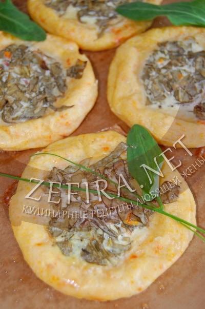 Картофельные булочки ватрушки с зеленью - рецепт и фото