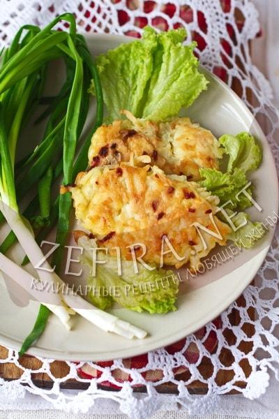 Оладьи из вареного картофеля - рецепт и фото