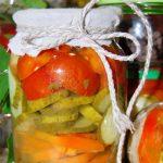 Овощной салат на зиму – рецепт без масла