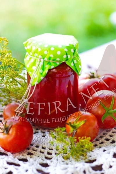 Соус из помидоров и сливы - рецепт и фото
