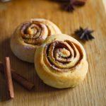 Творожные булочки с корицей-mini