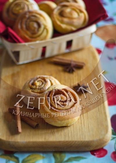 Творожные булочки с корицей - рецепт и фото