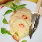 Запеканка из кабачков и помидоров с сыром