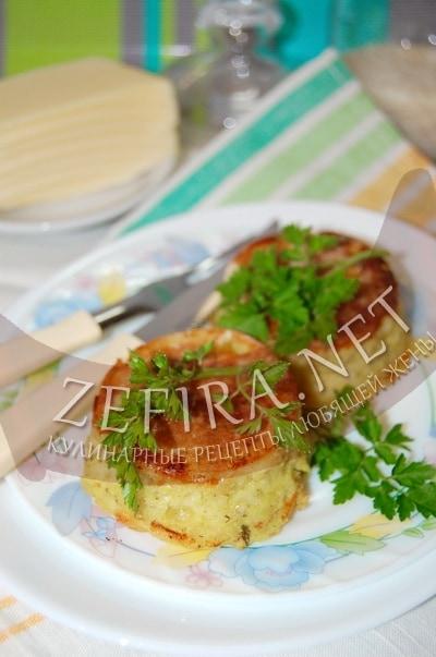 Запеканка с кабачками и рисом в духовке - рецепт и фото