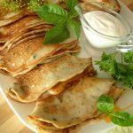 Кабачковые блины – рецепт с кефиром