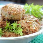 Котлеты из индейки - рецепт с кабачком и овсянкой