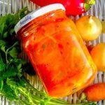 Овощная заправка для супа – рецепт заготовки на зиму