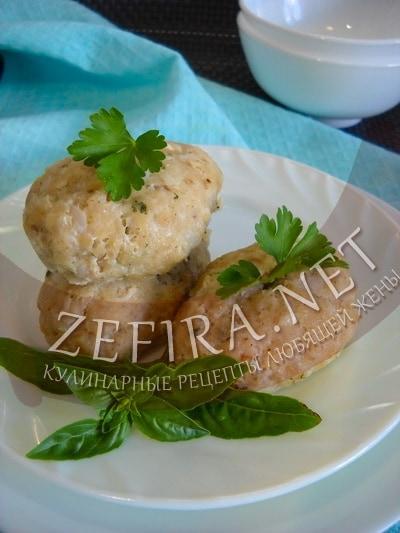 Паровые рыбные котлеты – рецепт и фото