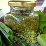Щавель с зеленым луком и укропом на зиму