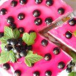 Творожно–йогуртный бисквитный торт