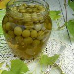 Варенье из недозрелого винограда