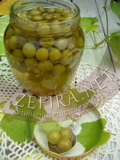 Варенье из недозрелого винограда - рецепт и фото