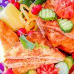 Горячие бутерброды с ветчиной и сыром, жаренные на сковороде