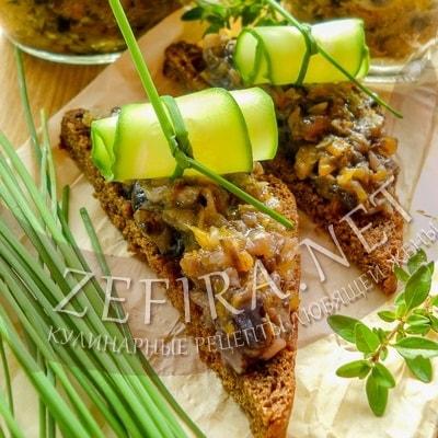 Грибная икра на зиму через мясорубку – рецепт с луком и морковью