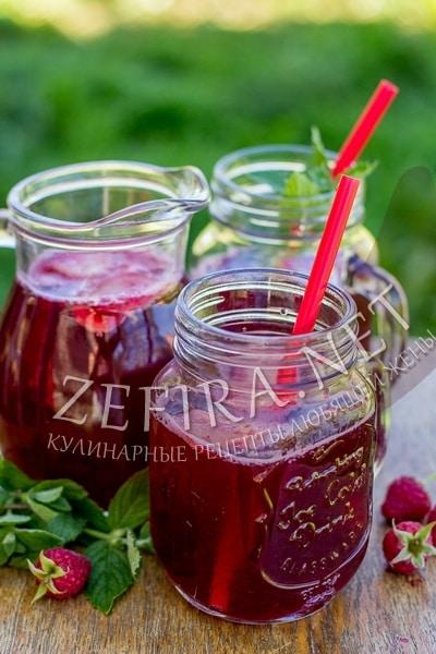Рецепт домашнего лимонада из ягод с имбирем - рецепт и фото