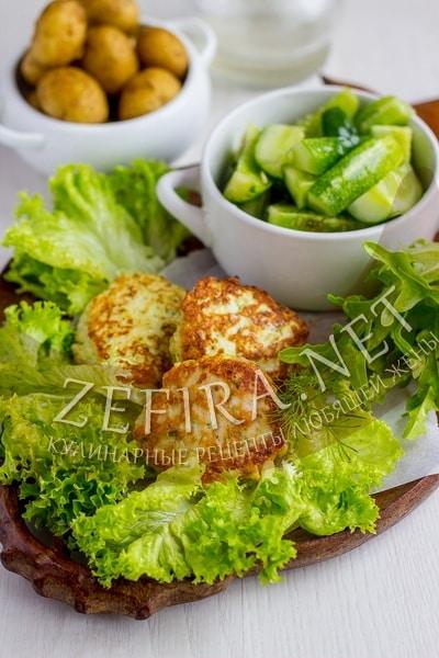 Котлеты из куриного филе с кабачком - рецепт и фото