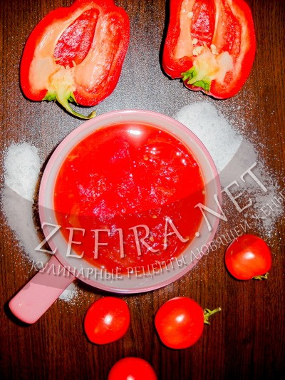 Лечо из богарского перца и помидор без стерилизации - рецепт и фото