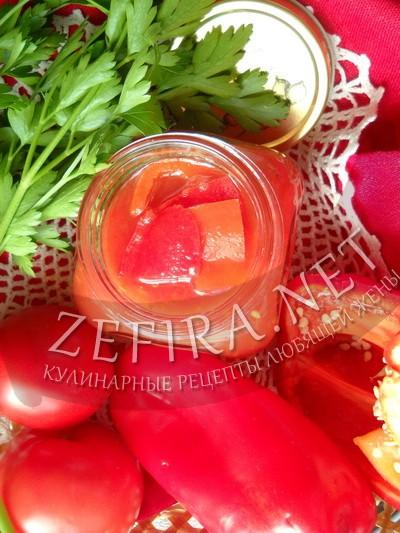 Лечо из перца и помидоров через мясорубку - рецепт и фото