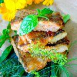 Жареное на сковороде филе рыбы в соево-томатном маринаде