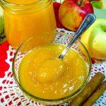 Джем из яблок и тыквы с корицей
