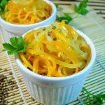 Салат на зиму из кабачков, моркови и лука
