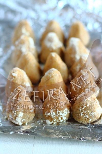 Конфеты из творога с печеньем - рецепт и фото